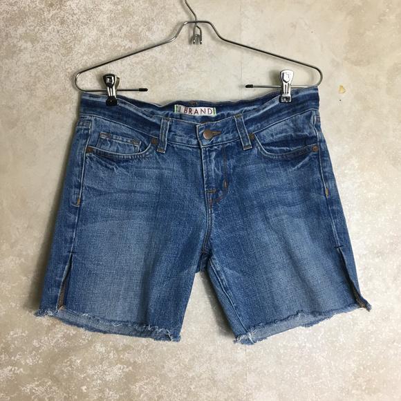 J Brand Pants - J Brand Jean Shorts Size 26 Style 1048 ELI Cutoffs